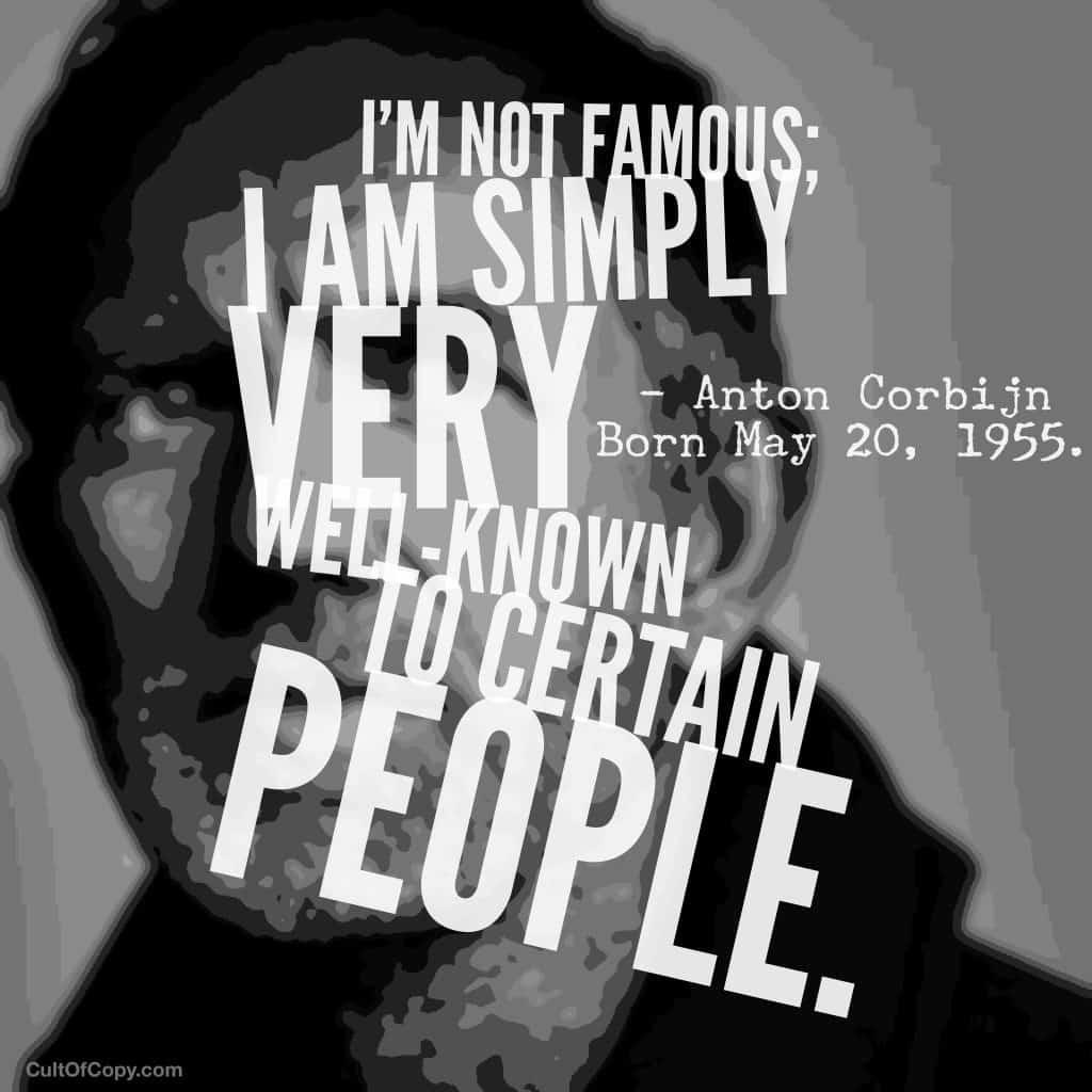 Anton Corbijn